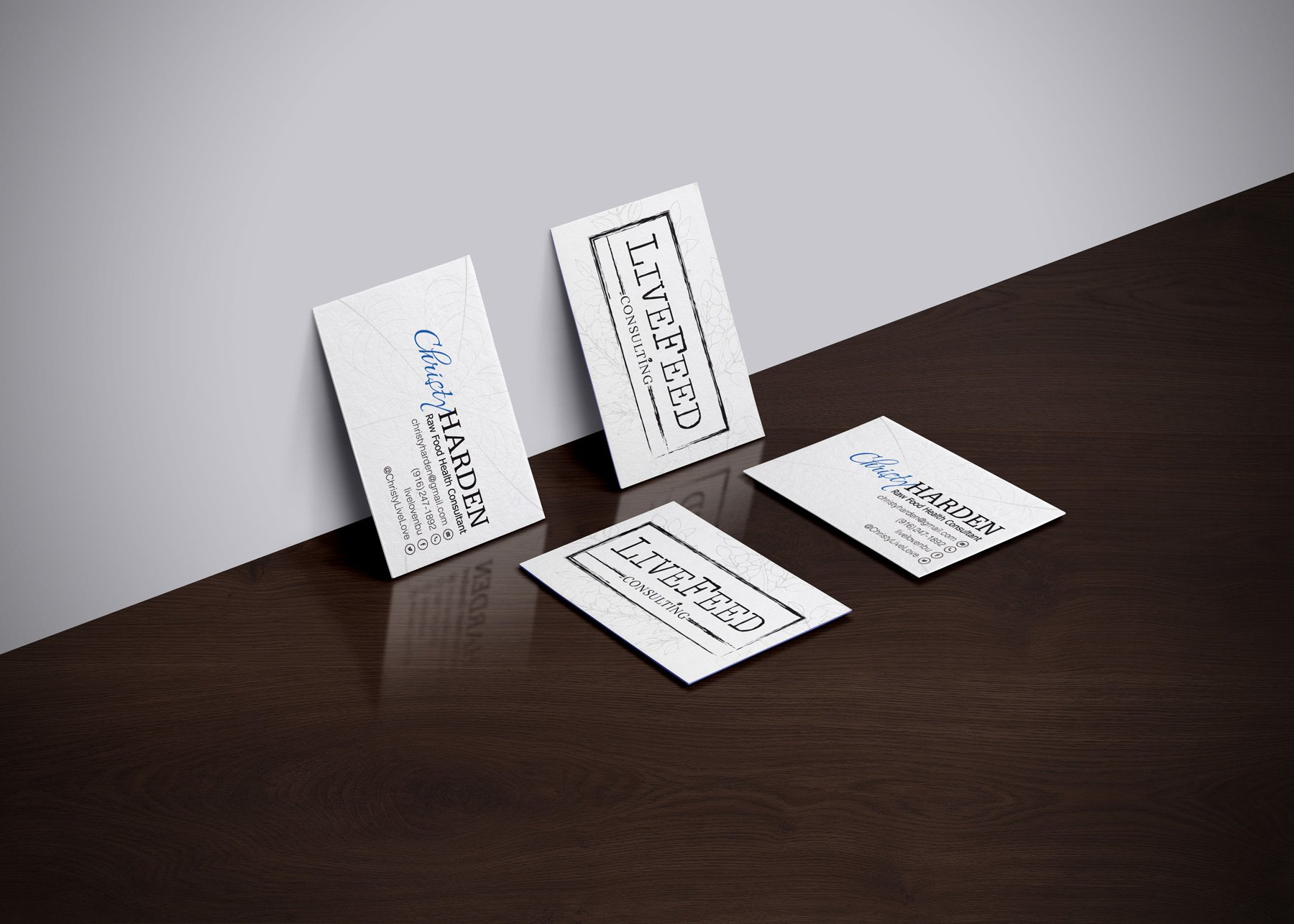 Consultant Business Card – The Really Awesome Little Marketing Co